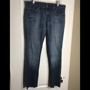 7 for all mankind 30 denim jeans